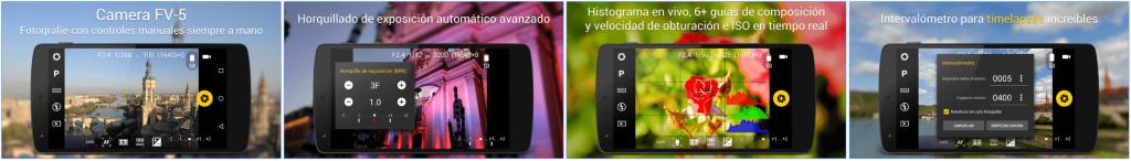 Screenshots CameraFV